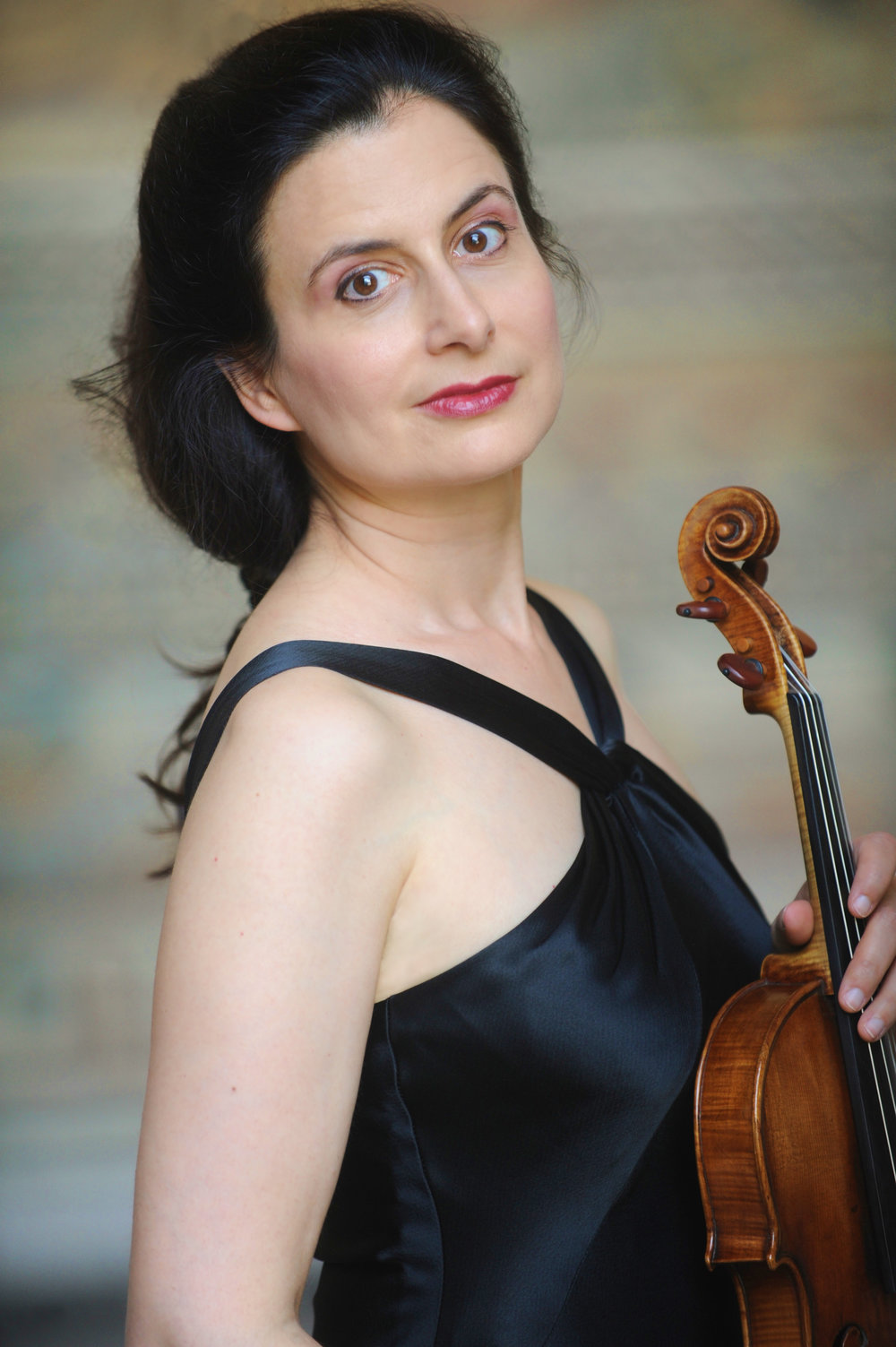 Ariadne Daskalakis, director of the South Coast's Music from Land's End. Dorothee Falke photograph