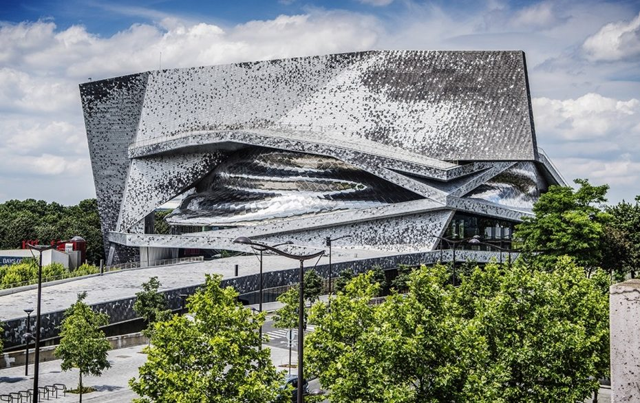 Philharmonie de Paris. W. Beaucardet photograph