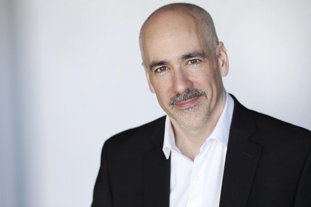 Composer Peter Boyer. Photograph Danika Singfield