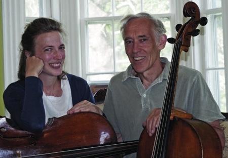 Jennifer Morsches and Tim Merton, directors of Sarasa Ensemble