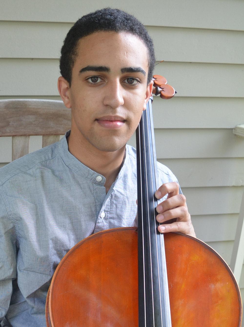 Cellist Lev Mamuya