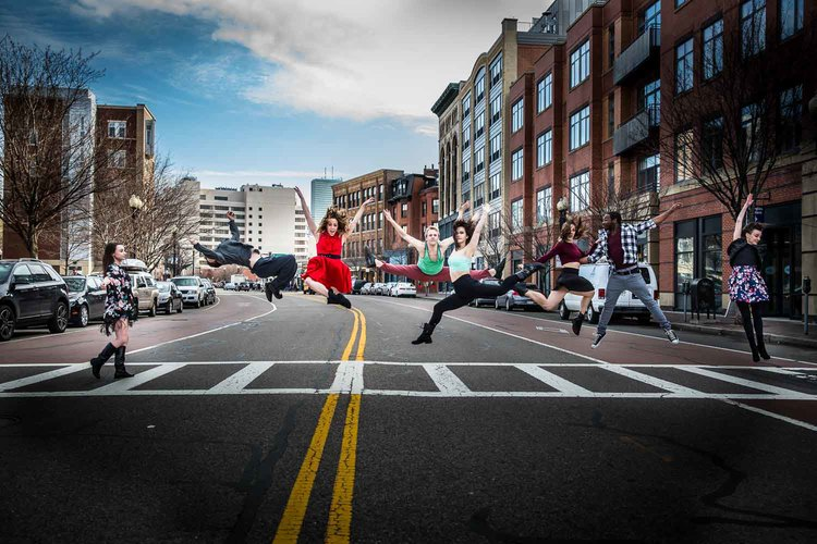 Urbanity Dance. Haley Day, Jacob Regan and Meg Anderson from Betsi Graves's troupe will perform with Hub New Music this Saturday at the Peabody Essex Museum. Eli Akerstein photograph