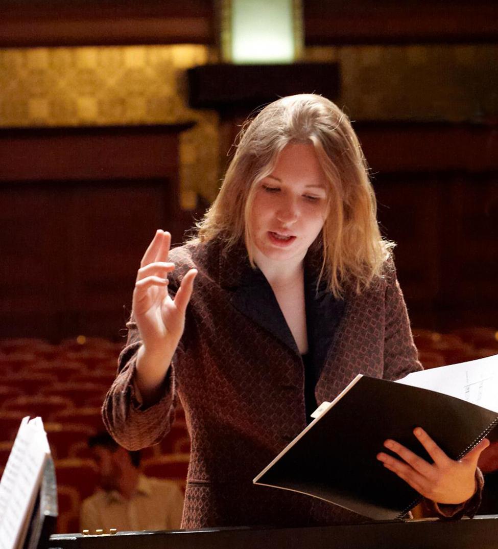 Composer Stephanie Ann Boyd. Mike Grittani photograph