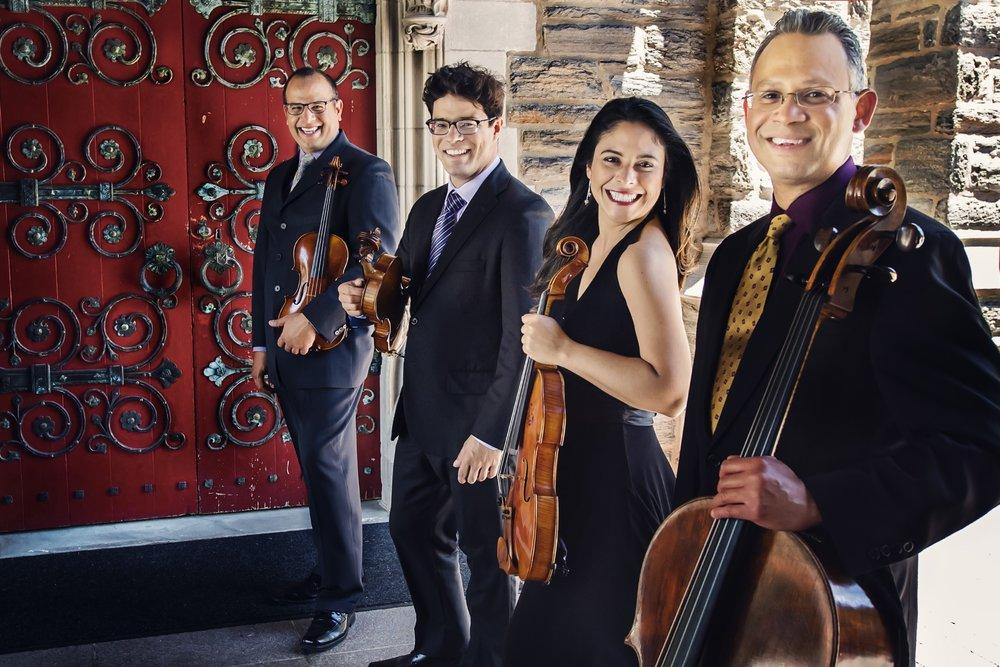Dalì Quartet. Vanessa Briceño-Scherzer photograph