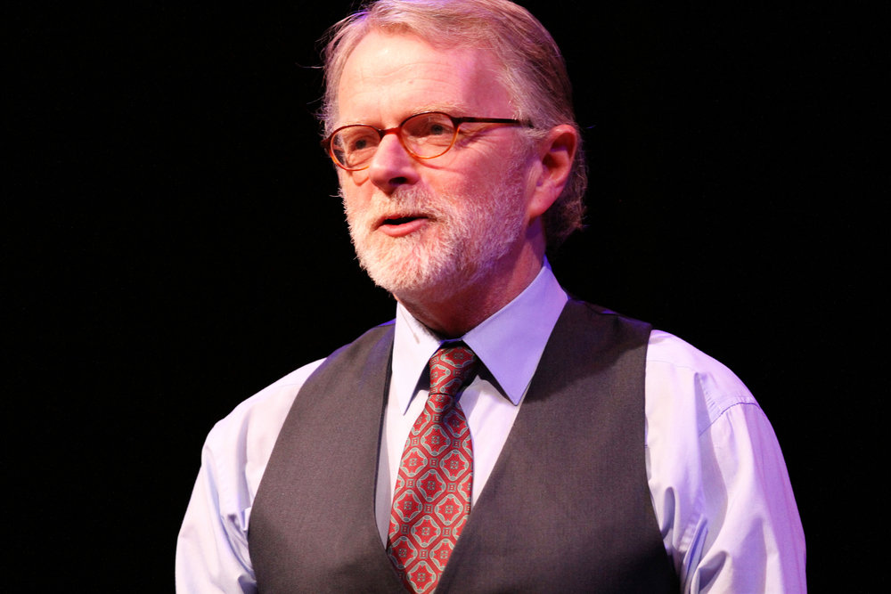 Brian O'Donovan, host and creator of A Christmas Celtic Sojourn. Ana Broding photograph
