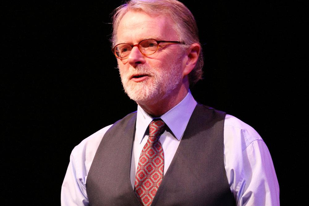 Brian O'Donovan, host and creator of A Christmas Celtic Sojourn. Ana Broding photograph