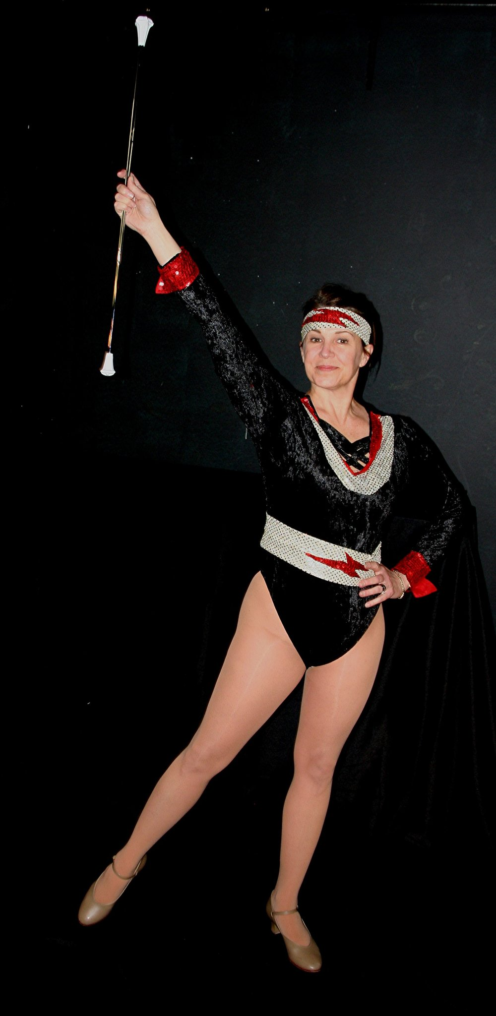 "Brenda Pothier in Jane Martin's ""Twirler,"" part of ""Talking With. . . "" Joe Odonnell photograph"