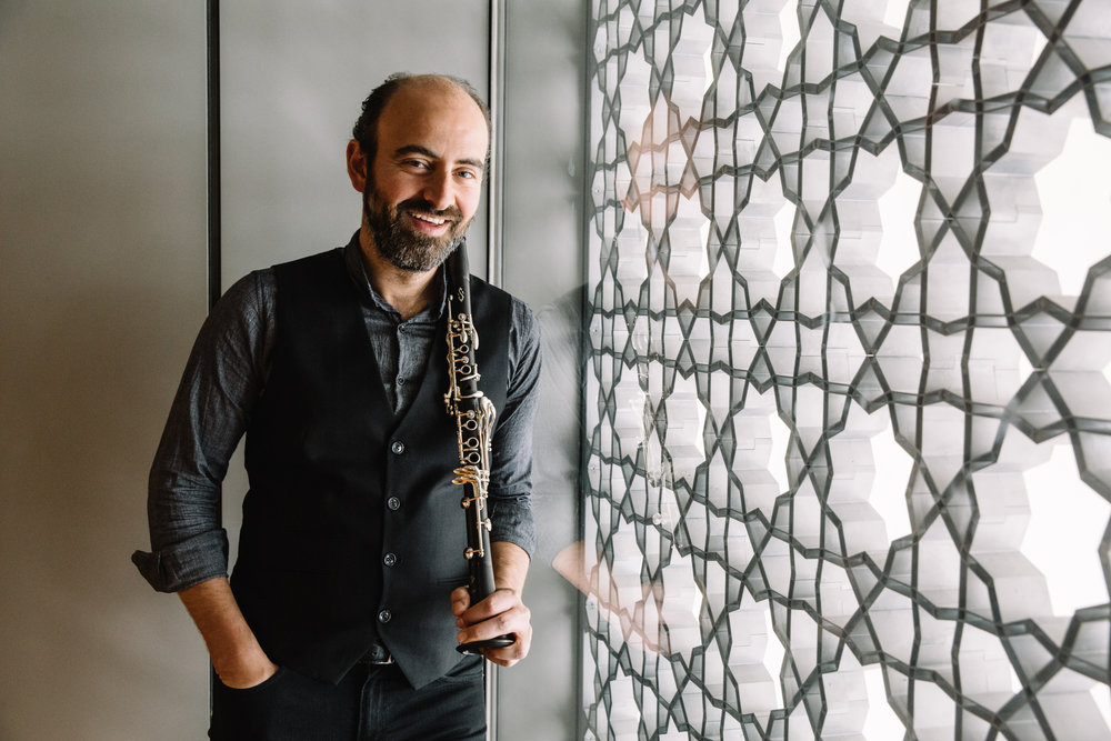 Kinan Azmeh. Photograph Connie Tsang