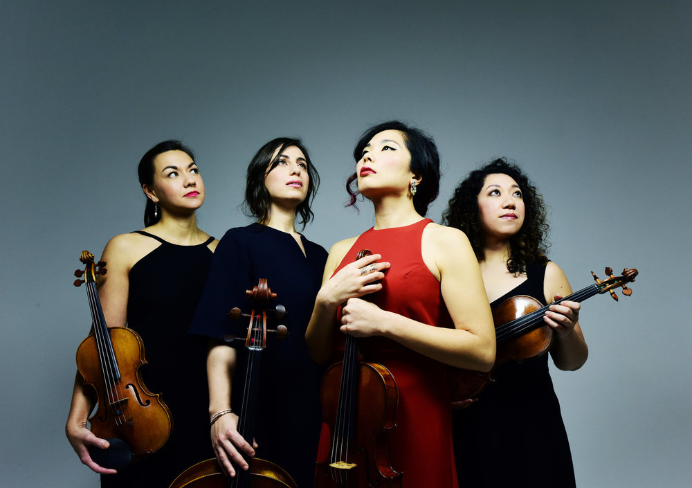 Aizuri Quartet comes to this summer's Rockport Chamber Music Festival, June 27 and 29.