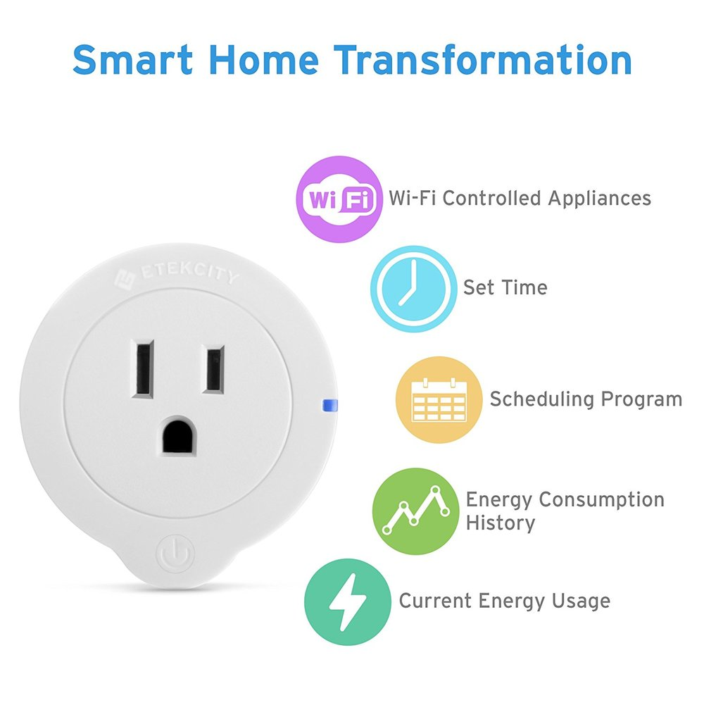 Etekcity (2) Pack Smart Plugs