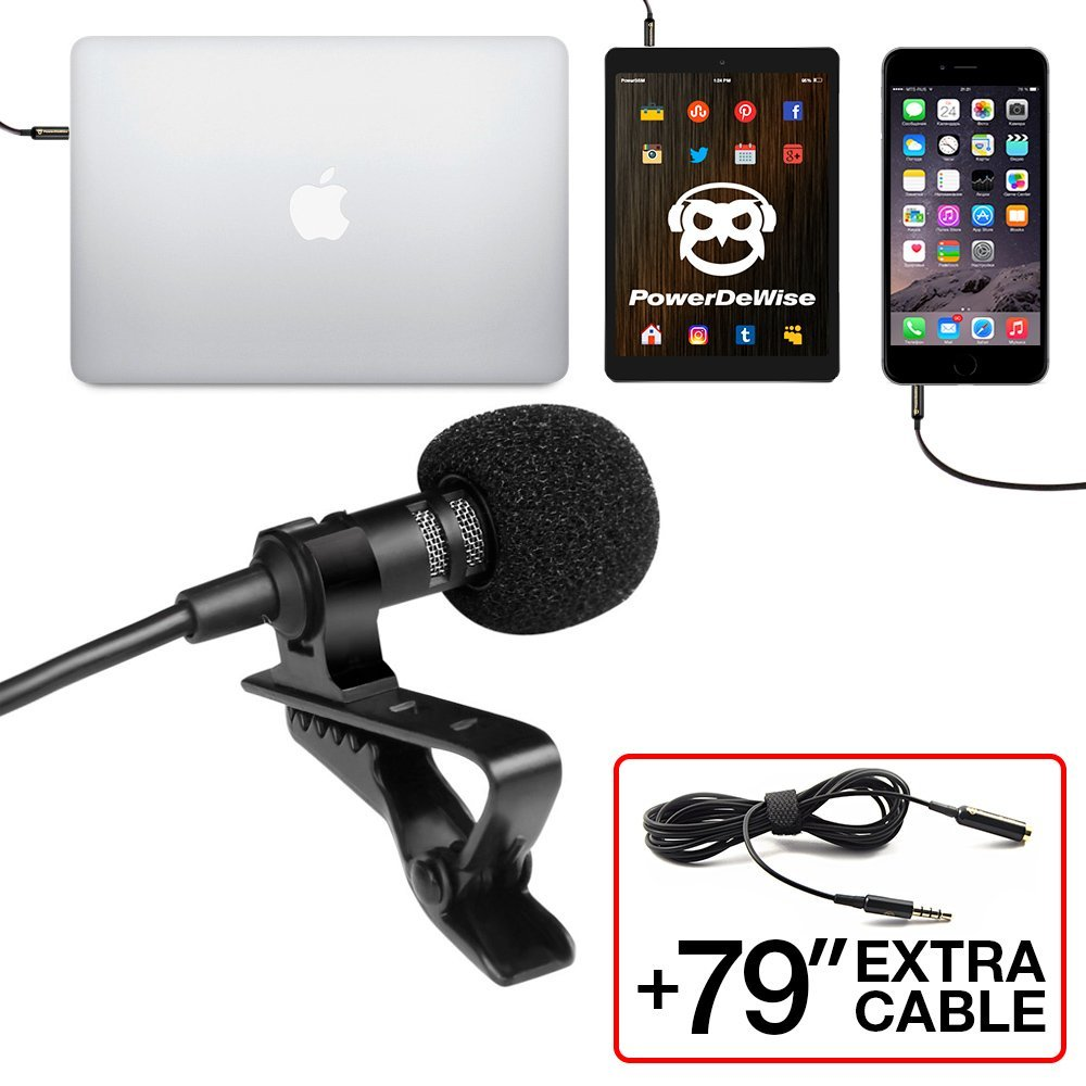Professional Grade Lapel Microphone