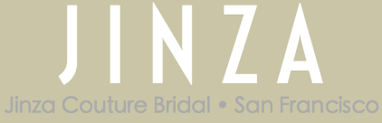 JINZA Couture Bridal | High-End Wedding Dresses San Francisco | Designer Custom Made | French Lace & Hand Made in U.S.