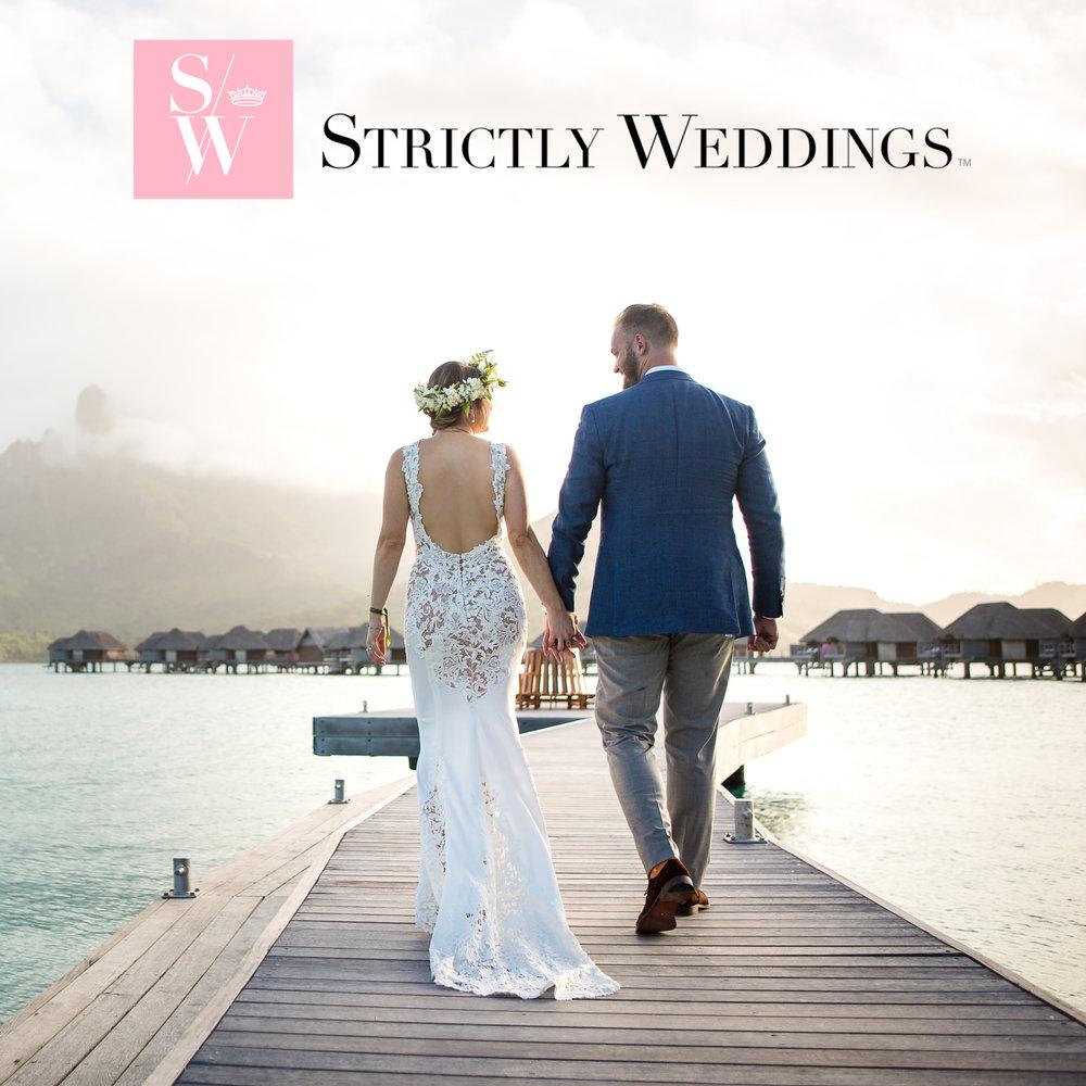 Jinza couture bridal bora bora destination wedding featured on strictly weddings junglespirit Choice Image
