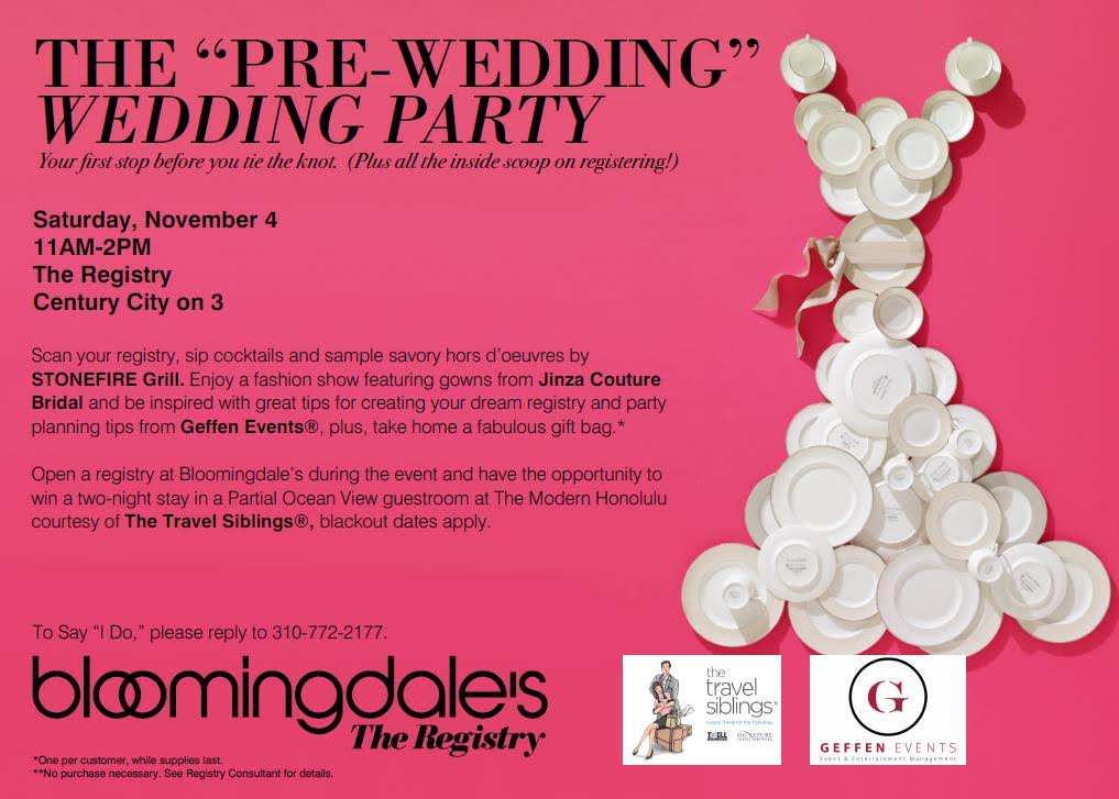 Bloomingdales Wedding Registry.Jinza Couture Bridal