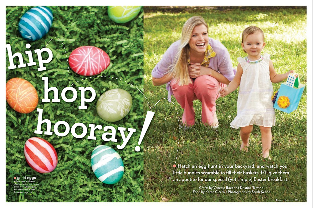Easter Kid's Crafts // Parents Magazine