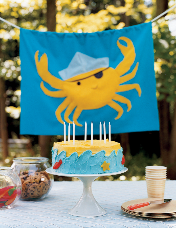 Flag - Treasure Hunt Birthday // Real Simple Magazine