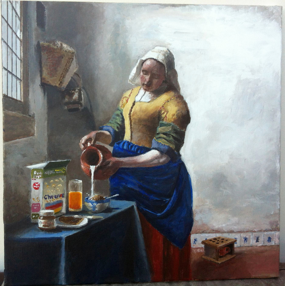 Milk Maid Preparing Cheerios.jpg