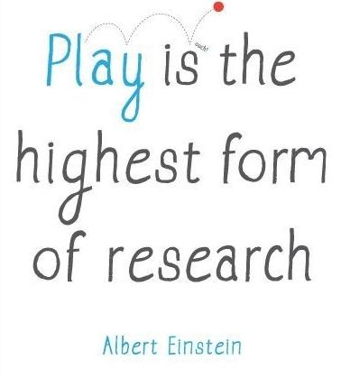 Игра - это высшая форма исследования (Альберт Эйнштейн)