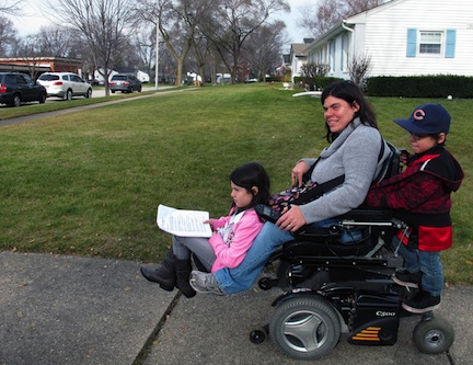 Parents with disabilities often lose custody of their children.