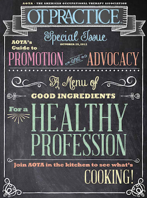 AOTA advocacy and promotion