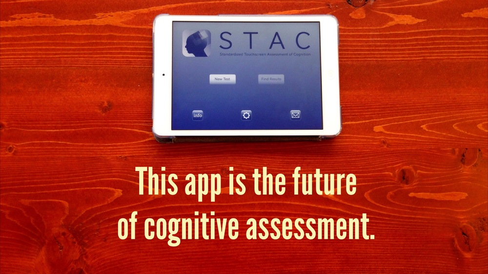This app is the future of cognitive assessment