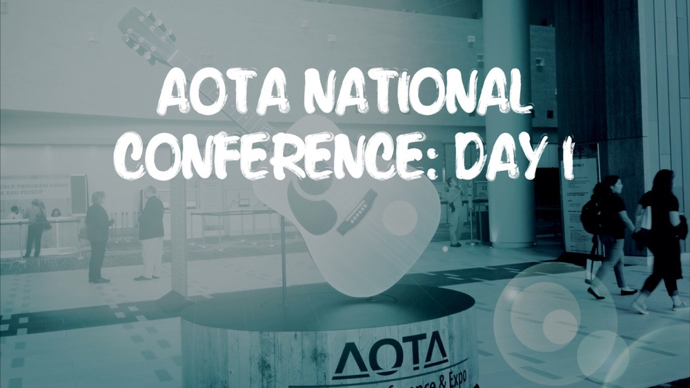 AOTA national conferece