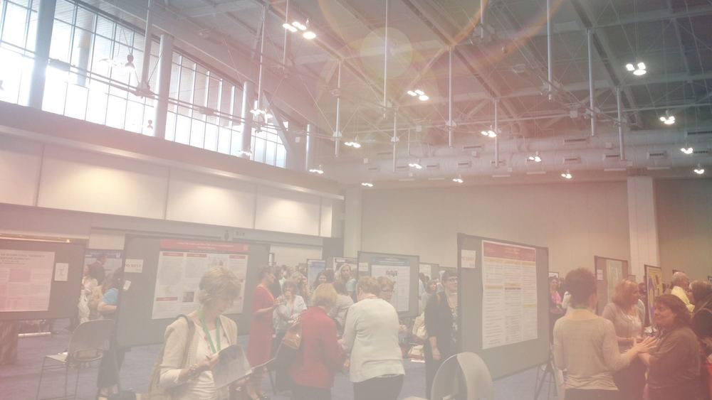 Occupational therapy poster session at aota15. otpotential.com