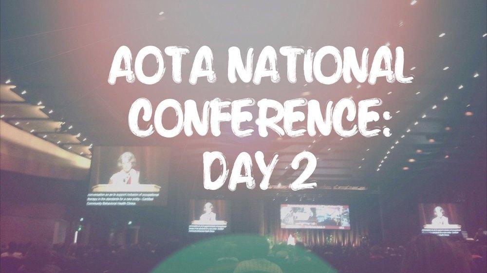 AOTA national conference