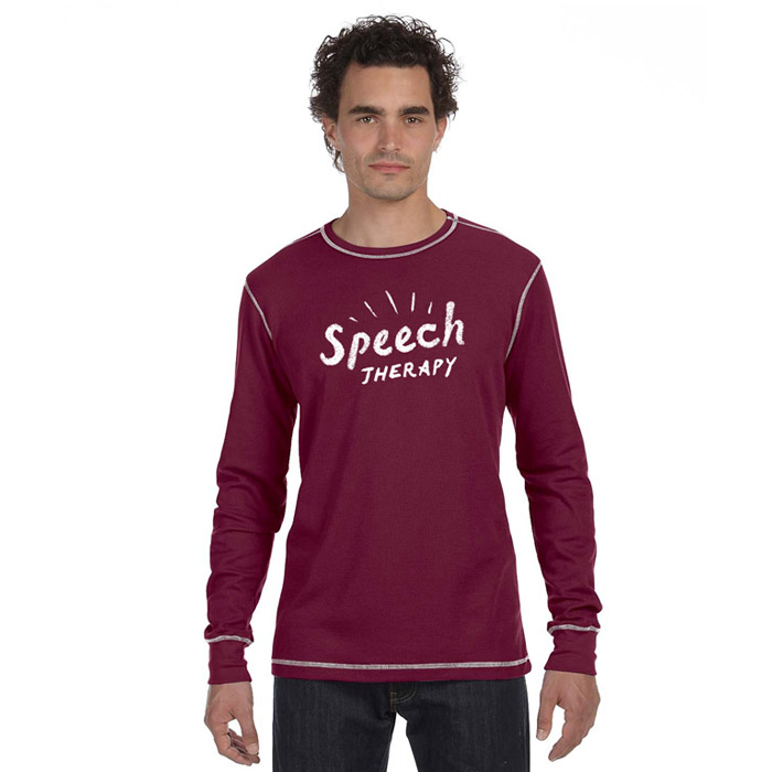 Speech therapy shirt