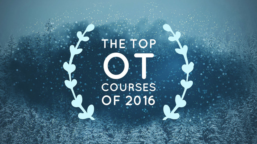 The Top Occupational Therapy Courses of 2016