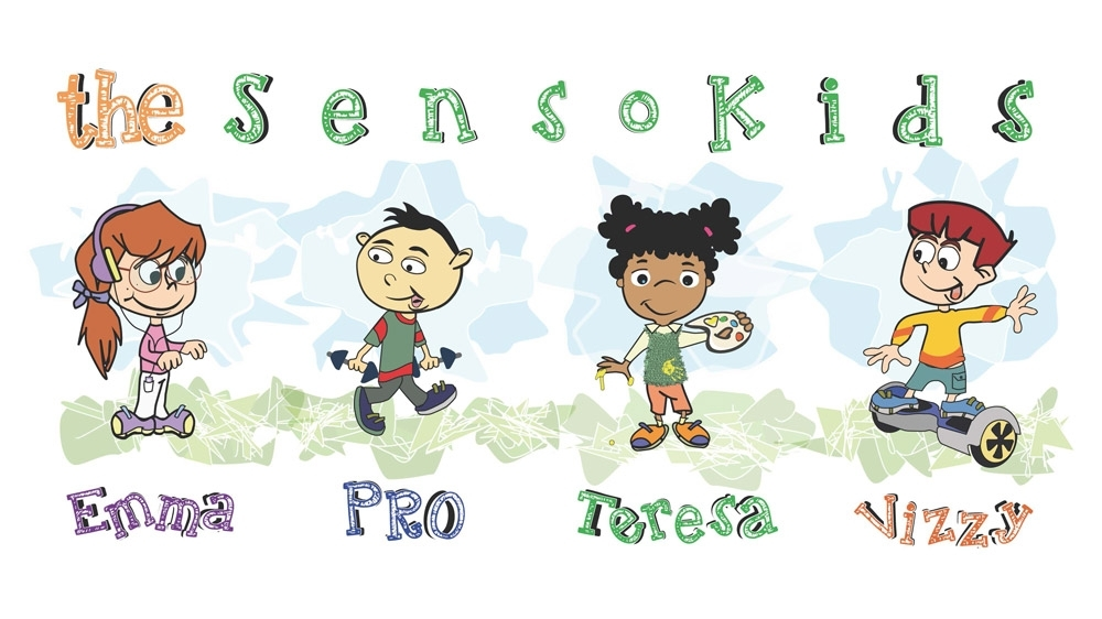 The SensoKids are copyrighted by  OT Studios, Inc .