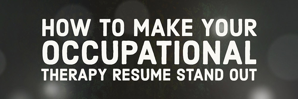 Step #3 in the process of Finding the Right OT Job is Applying.