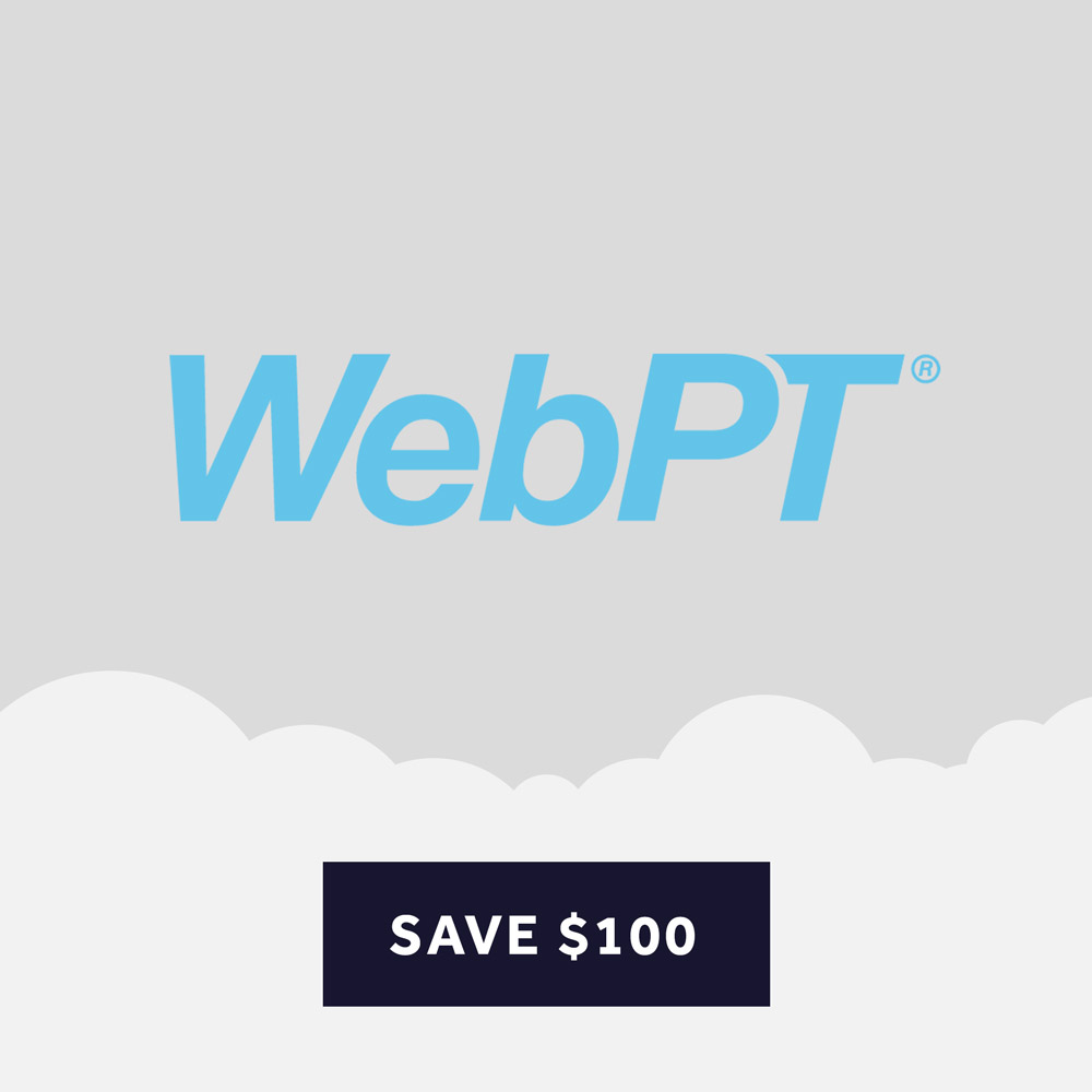 Click to find a WebPT Discount and Review of the Service.