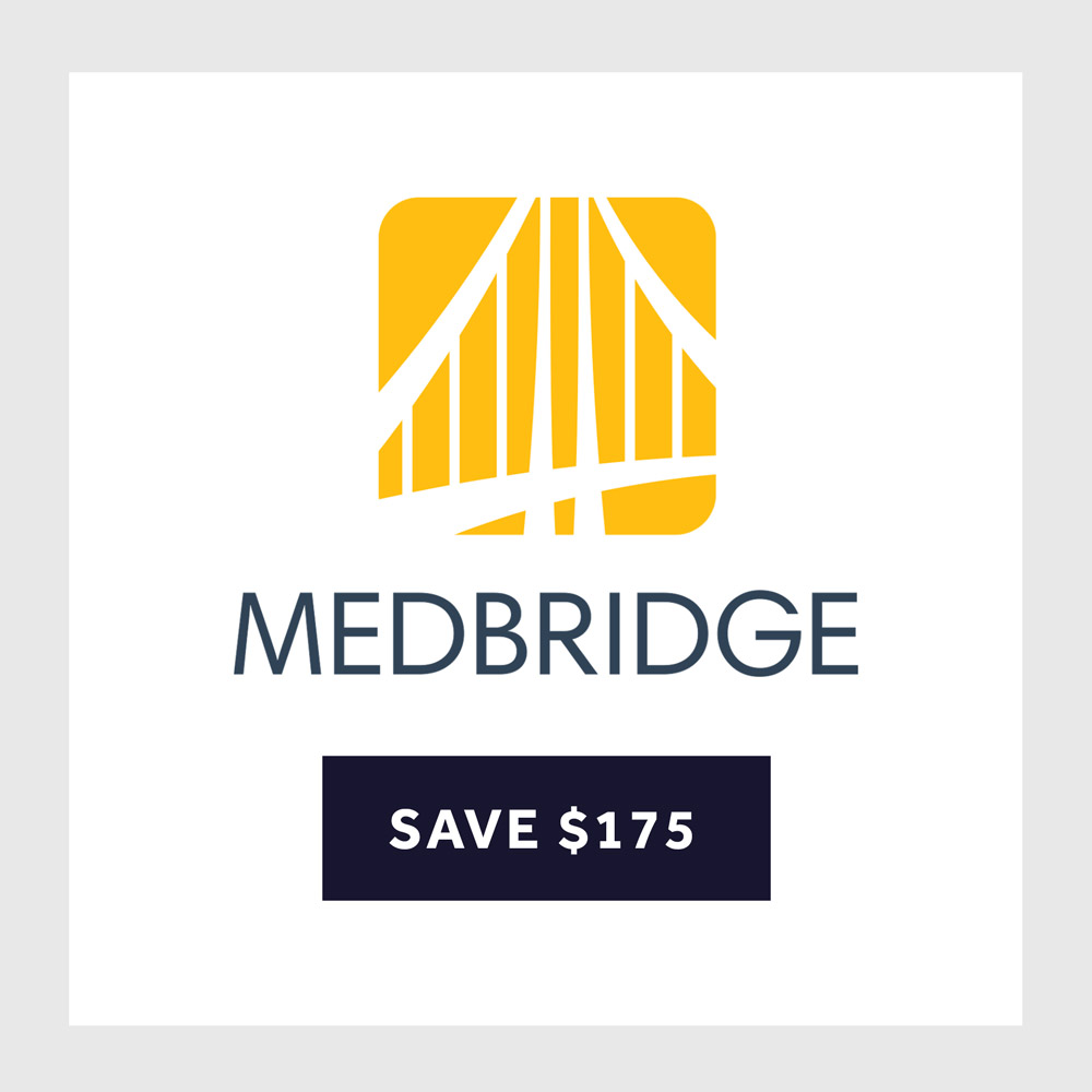 Click to find a MedBridge Promo Code and a Review of the Service.