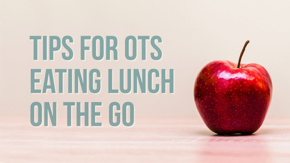 Are you a home health OT or an occupational therapist who often eats on the go. Here are some practical tips for making lunch-time more high impact. We would also love to hear your own lunch time tips!