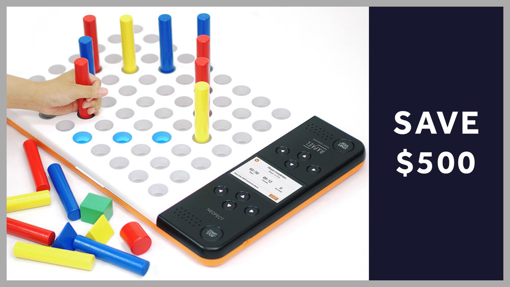 Looking for some technology to set your occupational therapy practice apart? Check out the Neofect Smart Pegboard! Here is a $500 discount on the pegboard, if you decide it is right for you!