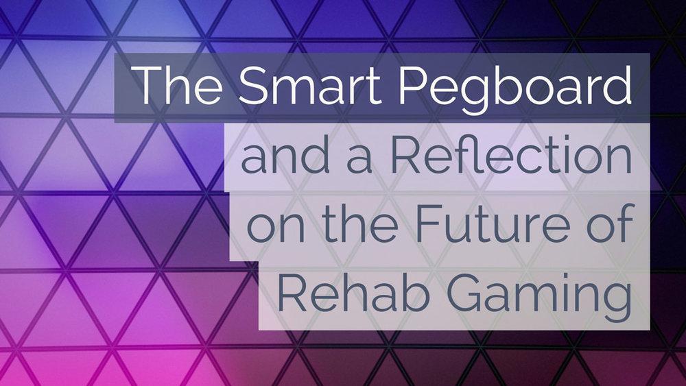 Smart pegboard for rehabilitation.