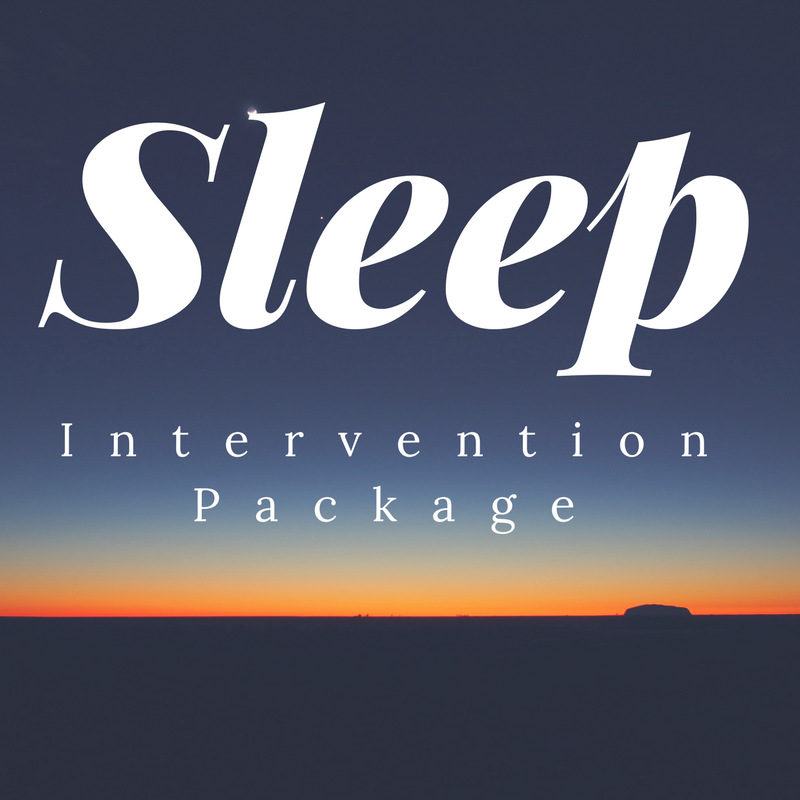 The OT Sleep Intervention Package