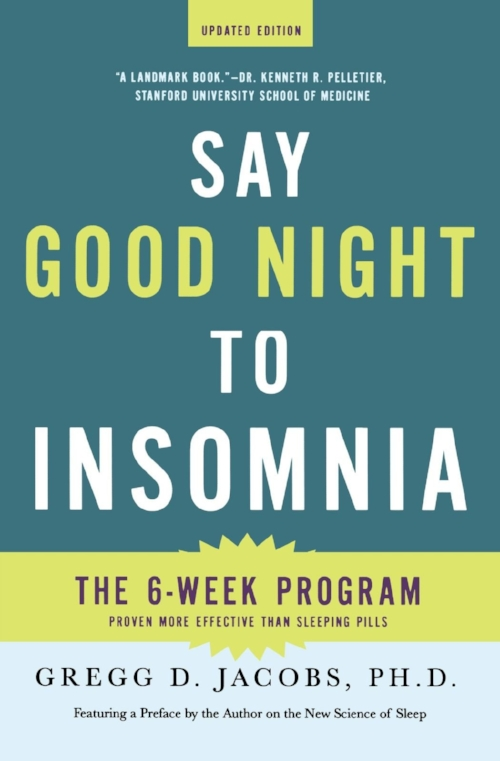 One of the books available to help OTs with sleep treatment.