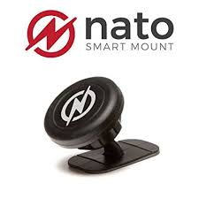 Nato is a device that gives your phone a home in the car.