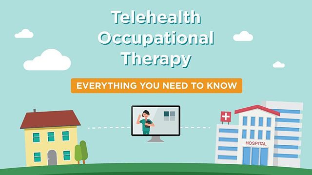 I've been working all summer on some new content for OTs and I'm so excited to share the first new post! #telehealth  #occupationaltherapy (Link in bio!!)