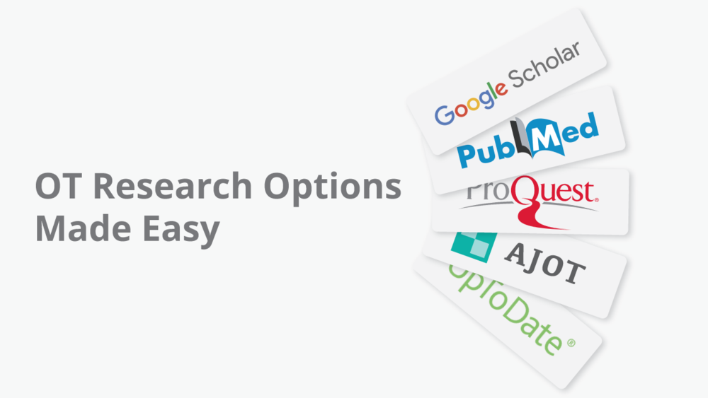 Curious about which platform you should use to find OT research? This post breaks down the different costs and pros and cons of each.