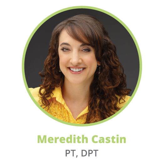 Meredith Castin, physical therapist and owner of the Non-clinical PT