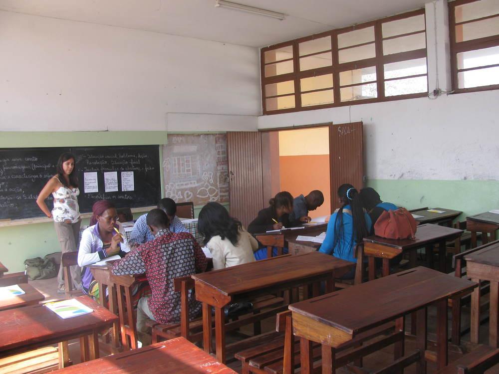 Formação de Professores do Distrito da Katembe