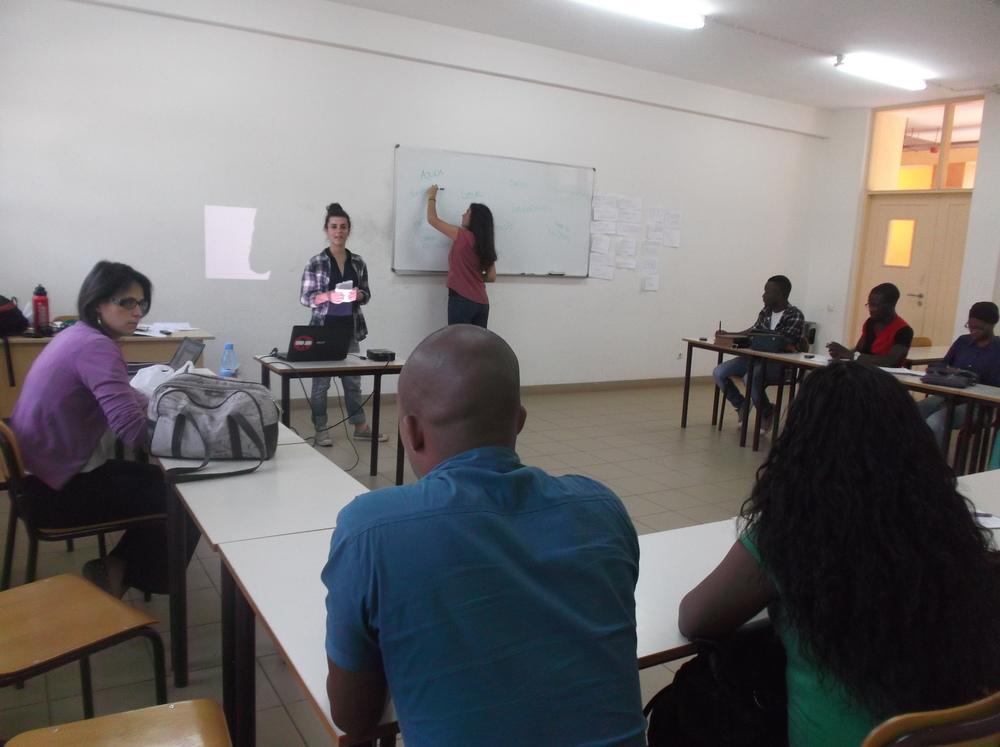 Workshop de Voluntariado na UEM