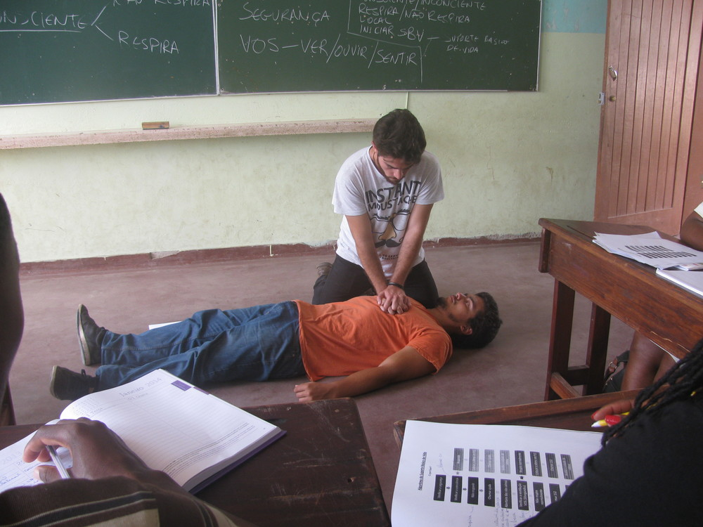 Workshop de Socorrismo a professores da Katembe