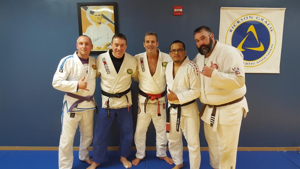 We are a proud member of Pedro Sauer Jiu-Jitsu Association. Professor Sauer is a Helio/Rickson Gracie black belt with over 40 years of Jiu-Jitsu experience.