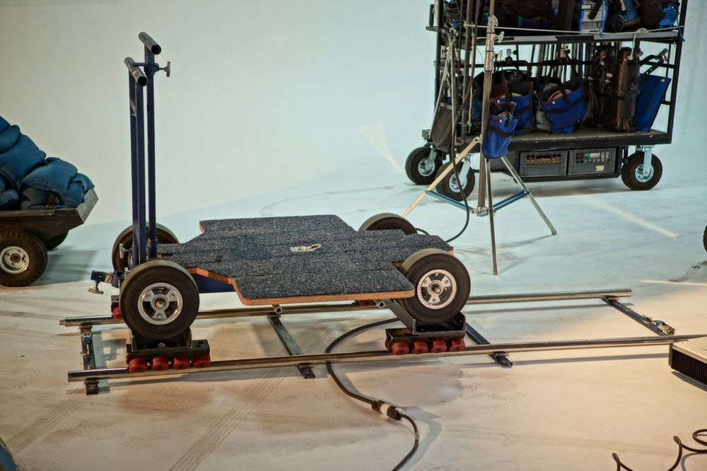 Doorway Dolly with Skate wheels and Track