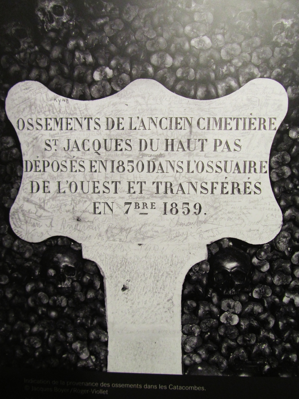 paris catacomb wall sign skulls.JPG