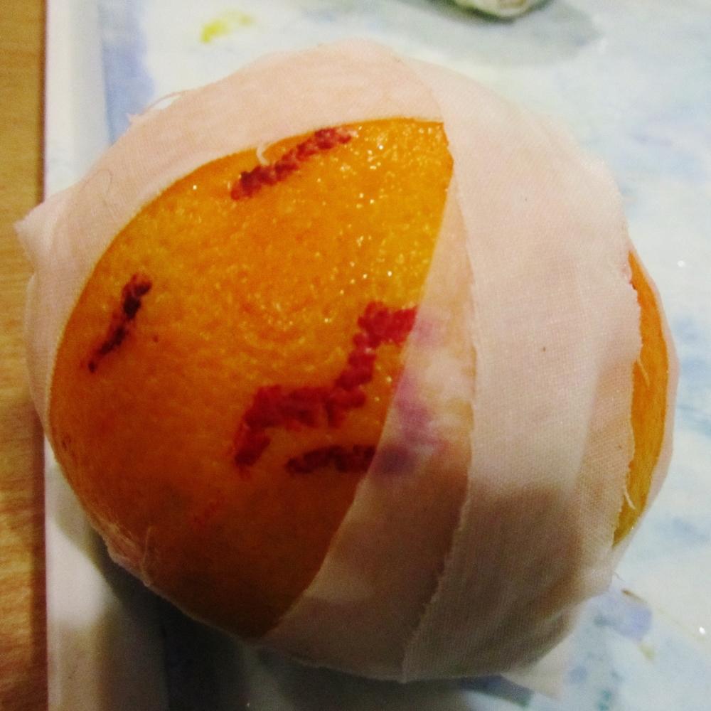 jade mellor mummifying orange.JPG